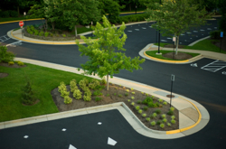 Commercial landscape design services by Grand Rapids Landscape Management