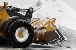Grand Rapids Landscape Management commercial snow plowing and snow removal services