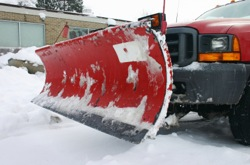 Grand Rapids Landscape Management commercial snow plowing services