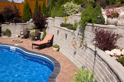 design and construction of residential hardscape Grand Rapids Landscape Management