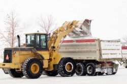 Grand Rapids Landscape Management providing commercial snow removal services for Grand Rapids businesses and organizations