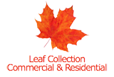 Commercial and residential leaf collection for Grand Rapids, Grand Rapids Township, Cascade, Ada, and East Grand Rapids