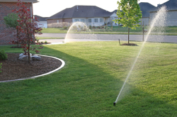 Grand Rapids Landscape Management residential lawn sprinkler systems installation and maintenance
